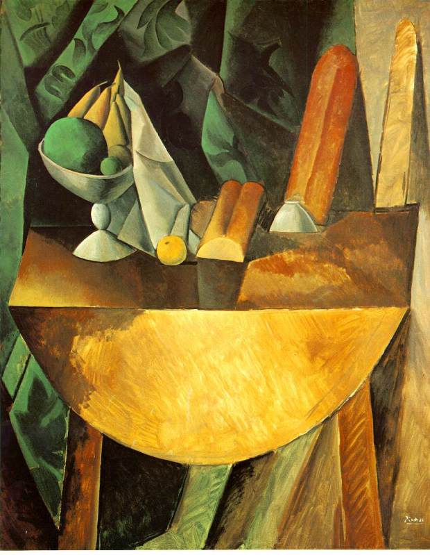 bread-and-dish-with-fruits-on-the-table-1909