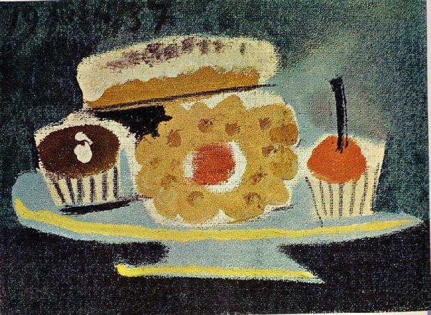 Untitled - Naïve Art (Primitivism) - 1937