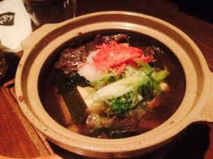 炸豆腐牛肉锅